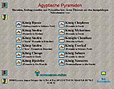 www.aegyptische-pyramiden.de: Navigation 1999