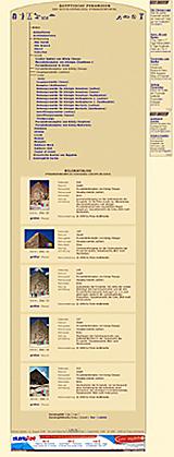 www.cheopspyramide: Webdesign 2006