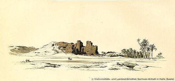 Südostecke der Lepsius-I-Pyramide