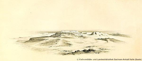 Ostseite der Radjedef-Pyramide