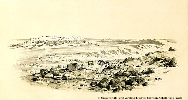 Westseite der Radjedef-Pyramide