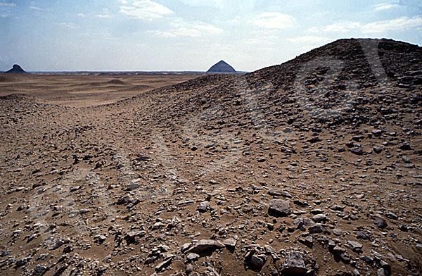 Amenemhat-II.-Pyramide (Weiße Pyramide): Seite, Bild-Nr. Grßansicht: 350a/3