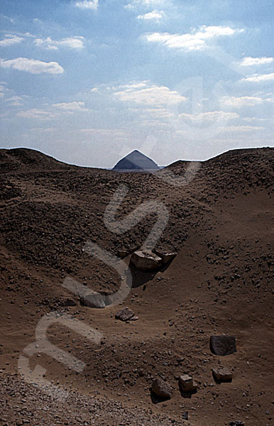 Amenemhat-II.-Pyramide (Weiße Pyramide): Spitze / Pyramidion, Bild-Nr. Grßansicht: 350a/2