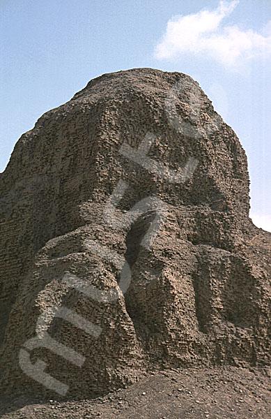 Amenemhat III.-Pyramide (Schwarze Pyramide): Ecke, Bild-Nr. Grßansicht: 360a/18