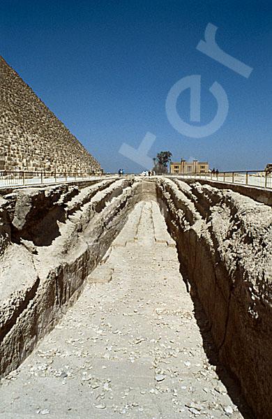 Cheops-Pyramide: Bootsgrube, Bild-Nr. Grßansicht: 21a/12