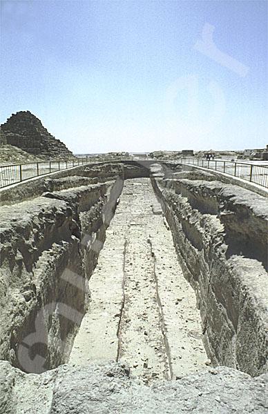 Cheops-Pyramide: Bootsgrube, Bild-Nr. Grßansicht: 21a/13