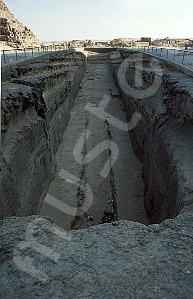 Cheops-Pyramide: Bootsgrube, Bild-Nr. Grßansicht: 21a/14