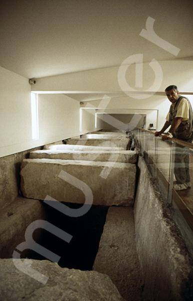 Cheops-Pyramide: Bootsgrube, Bild-Nr. Grßansicht: 21a/16