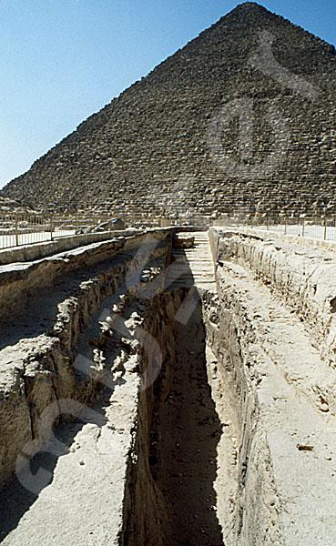 Cheops-Pyramide: Bootsgrube, Bild-Nr. Grßansicht: 21a/32