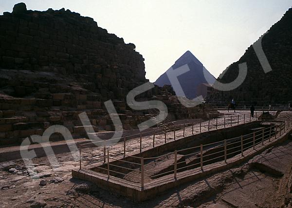 Cheops-Pyramide: Bootsgrube, Bild-Nr. Grßansicht: 21b/7