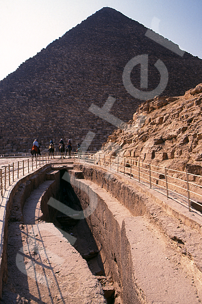 Cheops-Pyramide: Bootsgrube, Bild-Nr. Grßansicht: 21b/8