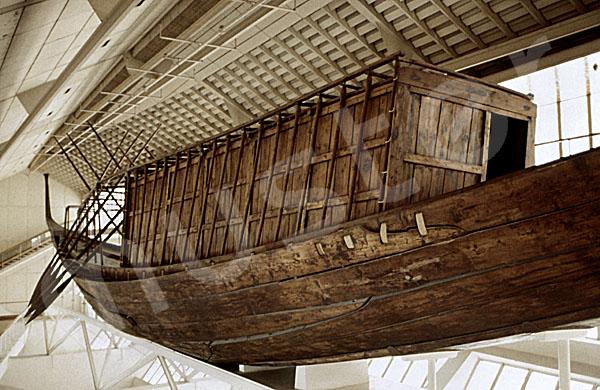 Cheops-Pyramide: Boot / Schiff, Bild-Nr. Grßansicht: 23a/27