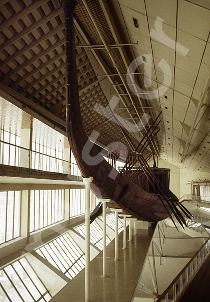 Cheops-Pyramide: Boot / Schiff, Bild-Nr. Grßansicht: 23b/35