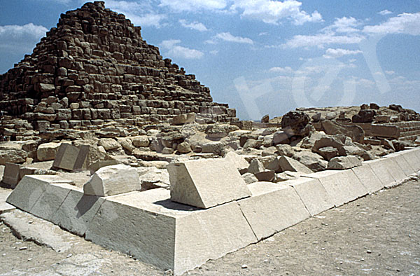 Cheops-Pyramide: Ecke, Bild-Nr. Grßansicht: 20b/49