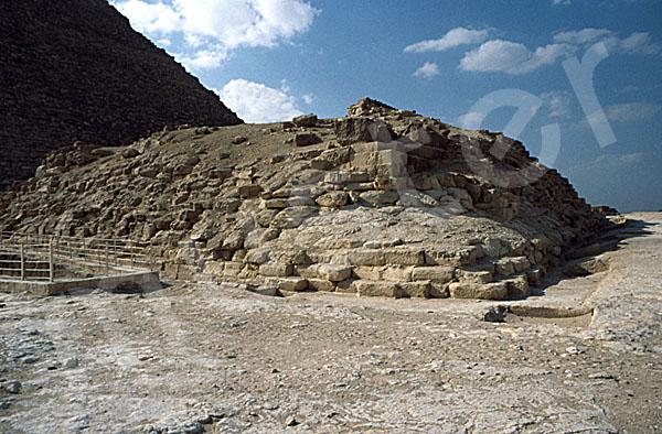 Cheops-Pyramide: Ecke, Bild-Nr. Grßansicht: 21a/40