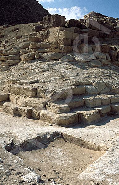 Cheops-Pyramide: Ecke, Bild-Nr. Grßansicht: 21a/41