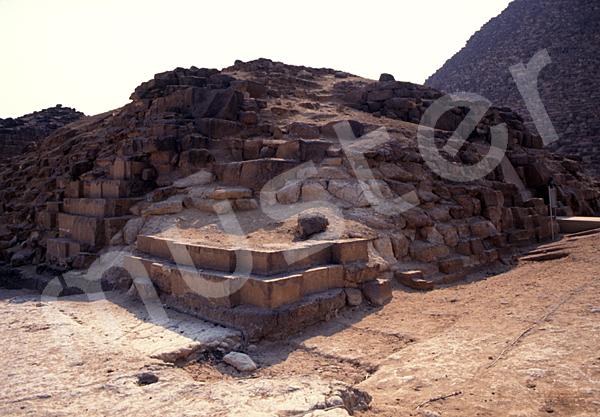 Cheops-Pyramide: Ecke, Bild-Nr. Grßansicht: 21a/48