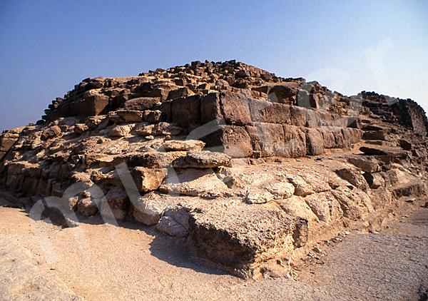 Cheops-Pyramide: Ecke, Bild-Nr. Grßansicht: 21a/49