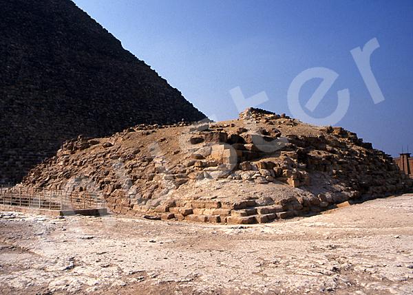 Cheops-Pyramide: Ecke, Bild-Nr. Grßansicht: 21a/50
