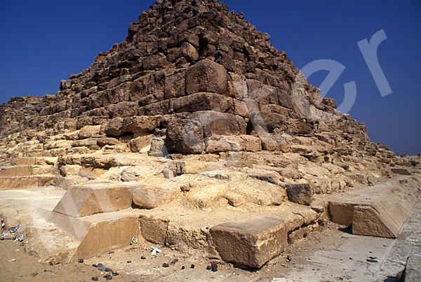 Cheops-Pyramide: Ecke, Bild-Nr. Grßansicht: 21b/28
