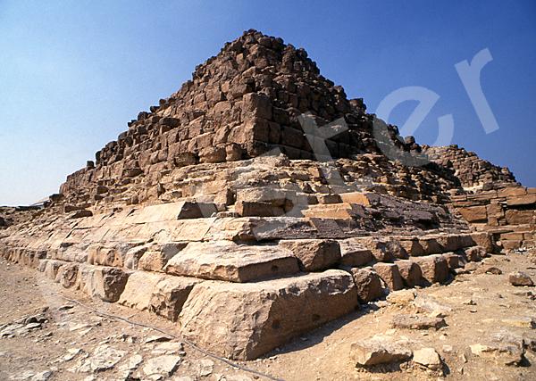 Cheops-Pyramide: Ecke, Bild-Nr. Grßansicht: 21b/29
