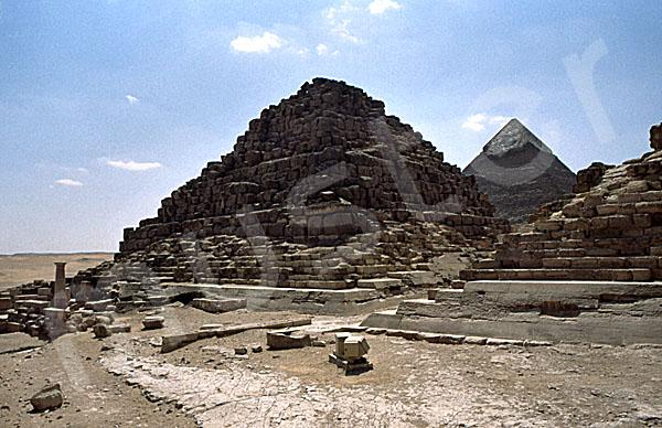 Cheops-Pyramide: Ecke, Bild-Nr. Grßansicht: 21b/40