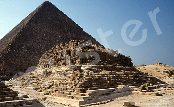 Cheops-Pyramide: Ecke, Bild-Nr. Grßansicht: 23a/40