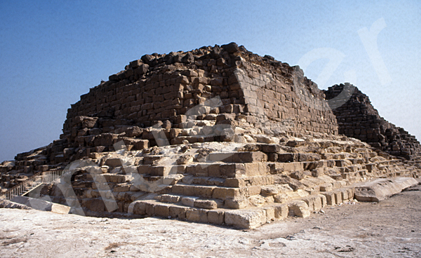 Cheops-Pyramide: Ecke, Bild-Nr. Grßansicht: 23a/43
