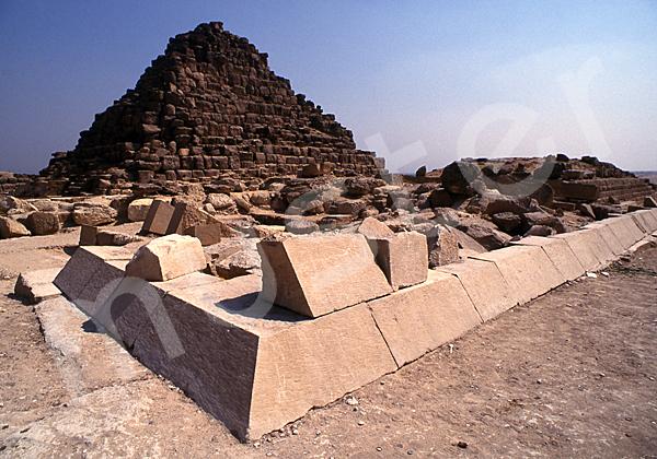 Cheops-Pyramide: Ecke, Bild-Nr. Grßansicht: 23b/21