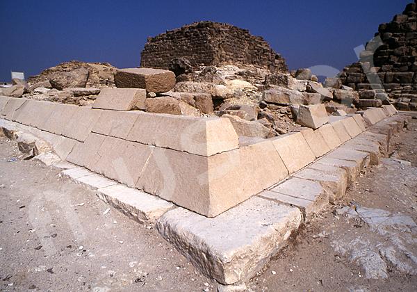 Cheops-Pyramide: Ecke, Bild-Nr. Grßansicht: 23b/22