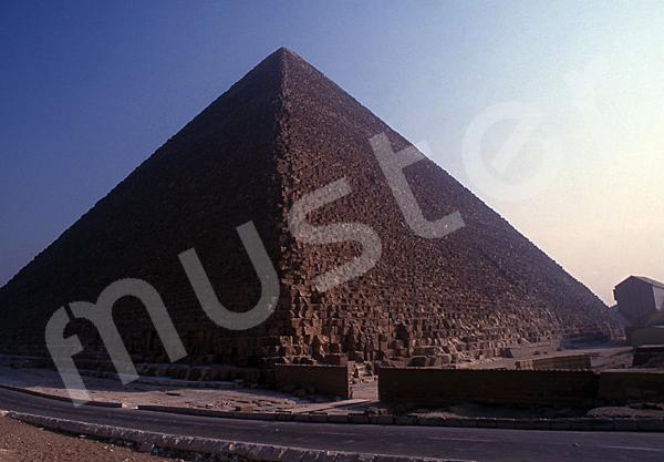 Cheops-Pyramide: Ecke, Bild-Nr. Grßansicht: 23b/6