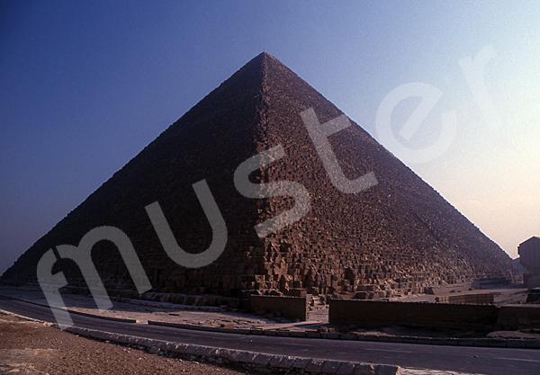 Cheops-Pyramide: Ecke, Bild-Nr. Grßansicht: 23b/7