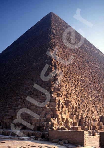Cheops-Pyramide: Ecke, Bild-Nr. Grßansicht: 23b/9