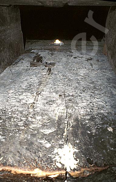 Cheops-Pyramide: Fallsteinanlage / -sperre, Bild-Nr. Grßansicht: 25b/9