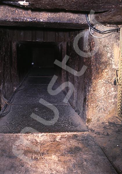 Cheops-Pyramide: Fallsteinanlage / -sperre, Bild-Nr. Grßansicht: 26a/9