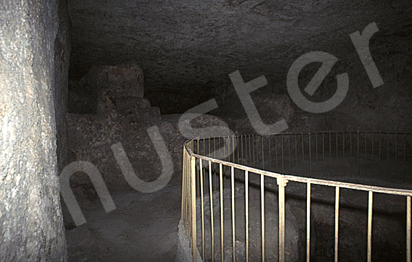 Cheops-Pyramide: Haupt- / Felsenkammer, Bild-Nr. Grßansicht: 25a/15