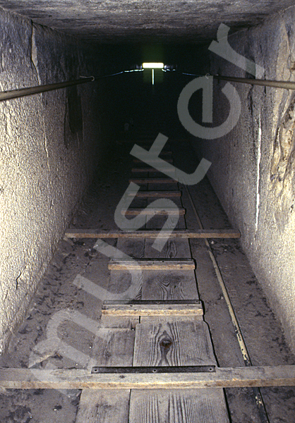 Cheops-Pyramide: Gang, Bild-Nr. Grßansicht: 25b/29