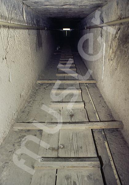 Cheops-Pyramide: Gang, Bild-Nr. Grßansicht: 25b/30