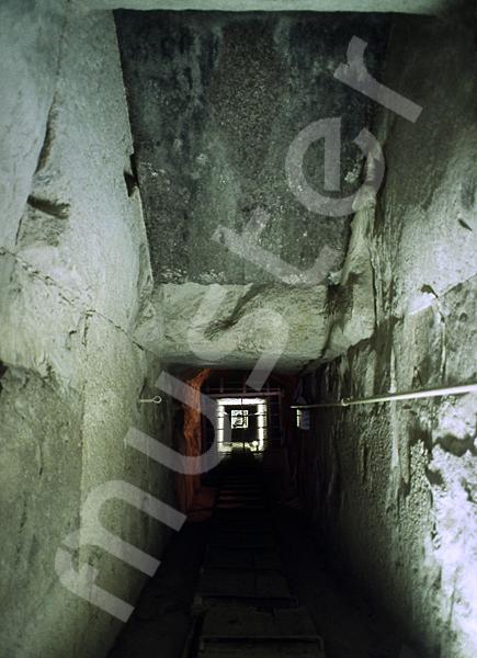 Cheops-Pyramide: Gang, Bild-Nr. Grßansicht: 25b/31