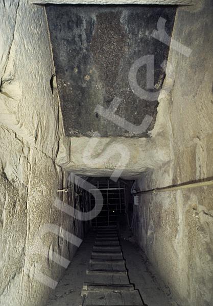 Cheops-Pyramide: Gang, Bild-Nr. Grßansicht: 25b/32