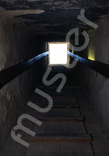 Cheops-Pyramide: Gang, Bild-Nr. Grßansicht: 26a/20