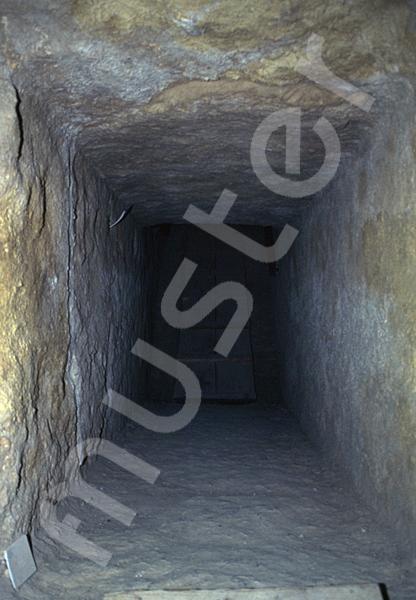 Cheops-Pyramide: Gang, Bild-Nr. Grßansicht: 26a/33