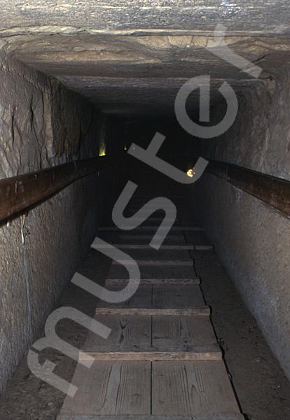 Cheops-Pyramide: Gang, Bild-Nr. Grßansicht: 26a/45
