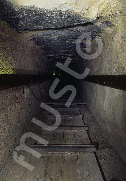Cheops-Pyramide: Gang, Bild-Nr. Grßansicht: 26b/12