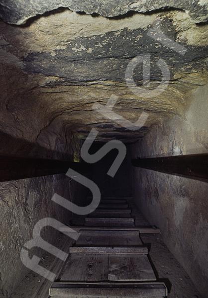 Cheops-Pyramide: Gang, Bild-Nr. Grßansicht: 26b/13