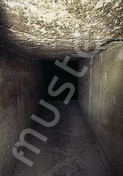 Cheops-Pyramide: Gang, Bild-Nr. Grßansicht: 26b/17