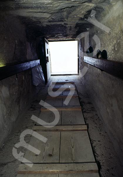Cheops-Pyramide: Gang, Bild-Nr. Grßansicht: 26b/32