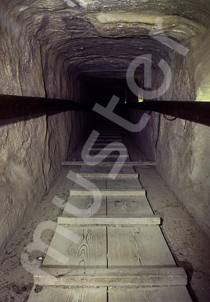 Cheops-Pyramide: Gang, Bild-Nr. Grßansicht: 26b/33