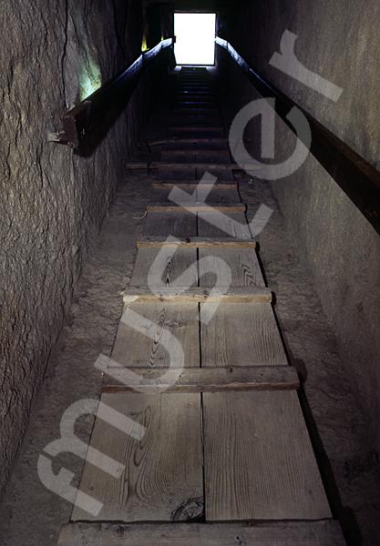 Cheops-Pyramide: Gang, Bild-Nr. Grßansicht: 26b/35