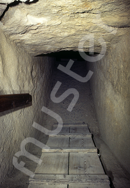 Cheops-Pyramide: Gang, Bild-Nr. Grßansicht: 26b/36